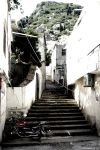 Old stairs and a motorcycle by hadeel-ayed