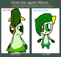 Oh Snap!Draw This Again! by Uxie126