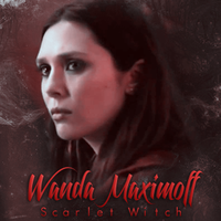 Wanda Maximoff / Scarlet Witch by N0xentra