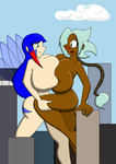 Giantess Fun - Collab by Ifrit9