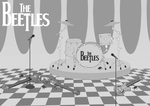 The Beetles by Lesquille