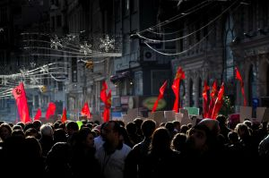 Red Flags Of Revolution by TanBekdemir