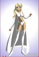 Sailor Emma Frost 2 by SelenaParthenopaeus