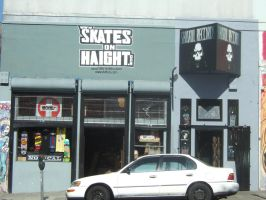 Skate on HAIGHT by ThEiUfO