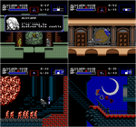 Castlevania: Symphony of the Night - NES Edition 3 by Kradakor