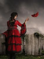 Goodbye Red Shoes by Lissaburd