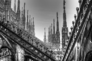 Duomo, Milan, Italy by chef-chad