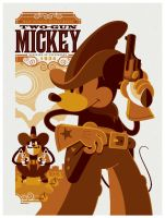 mondo: two-gun mickey by strongstuff