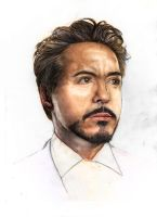 Robert Downey Jr wip 3 colo by YannWeaponX