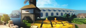 Beautiful Minecraft panorama by lpzdesign