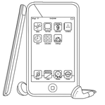 iPod Touch Outline by Enpo