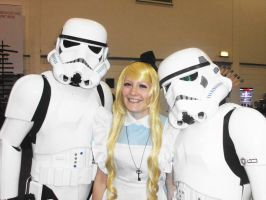 Myself as Alice with the Storm Troopers! by ImaginaryRoses