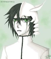 Ulquiorra Cifer - Paint by AkaneOtaku