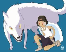 Mononoke- Adventure Time style by Misaky