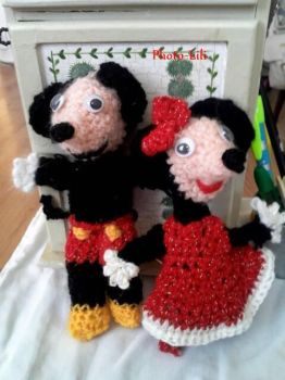 Mickey and Minnie by Photo-lili