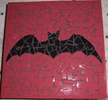 Mosaic Tile Bat Table by alanahawk