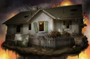 One house was still standing after the Apocalypse! by incomible