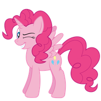 Another pink Alicorn by DonParpan