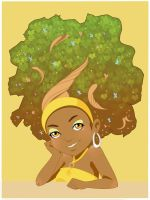 Afro Tree by Do0dleBug