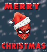 Merry Christmas Spidey by pascal-verhoef