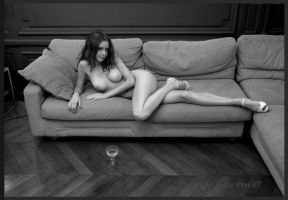 Champagne and shoes .. by JohnPeri