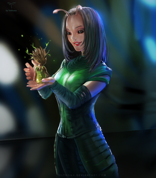 Mantis - Guardians of the Galaxy by telthona