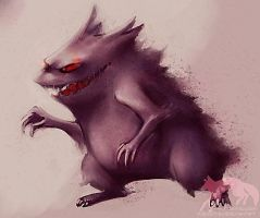 It's Gengar by Vulpes-Rex