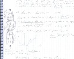 Doodles in class 3 WTF AGAIN? by LombaxAzores
