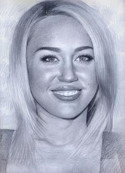 miley cyrus by shtrumphX