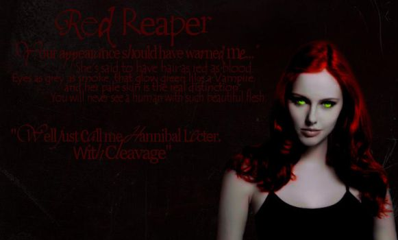 The Red Reaper - Night Huntres by LOVxxE