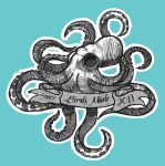 Shirt Design with Squid by PainBrain