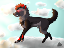 _Sky high_ by NarraWolfy