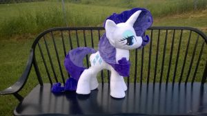 Rarity plush for sale by Zombies8MyWaffle