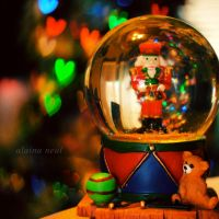 snow globe by rendezvouswithme