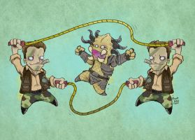 double dutch by poopbird