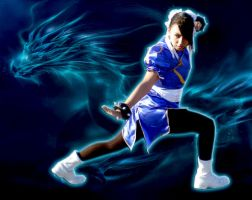 Chun-Li - Street Fighter by SidneyVons