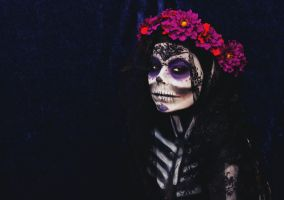 Day of the dead II by GirlOfGreys