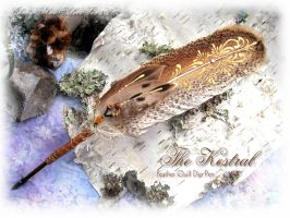 THE KESTRAL Hawk Feather Pen by ChaeyAhne