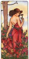 Mucha's Carnation by AnnaSulikowska