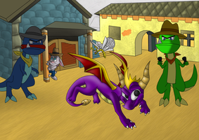 Spyro Dino Mines OLD VERSION by CartoonSilverFox