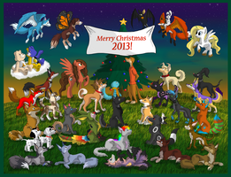 Merry Christmas 2013! by iFoxSpirit