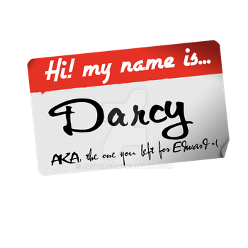 Hello My name is Darcy, by JustGage