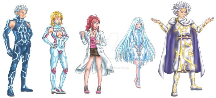 SOUL Video Game Characters v.1 by Ruby3ye5