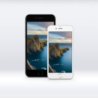 iOS 8 GM iPhone 6 Lighthouse Wallpaper by JasonZigrino