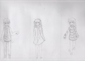 Diffrent OC's by Thao-Pyon
