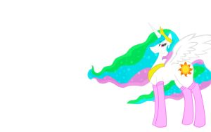 Celestia in socks background by Facelessguru