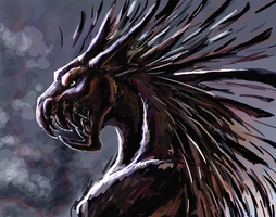 Dragon by Ankhes-Nur