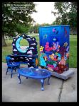 Painted Furniture Collection by ReincarnationsDotCom