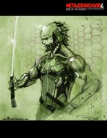 Raiden MGS4 by nefar007