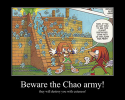 Chao army de/motivational poster by FelineGal
